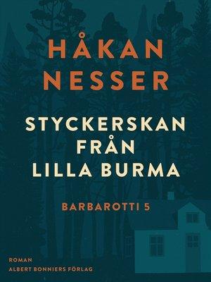cover image of Styckerskan från Lilla Burma