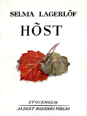 cover image of Höst