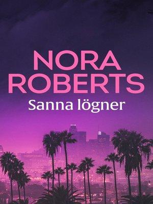 cover image of Sanna lögner