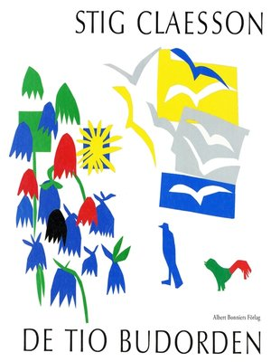cover image of De tio budorden