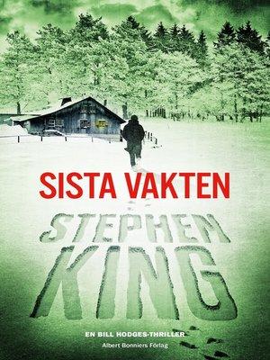 cover image of Sista vakten