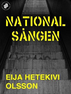 cover image of Nationalsången
