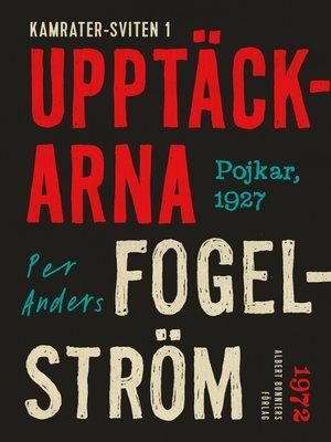 cover image of Upptäckarna