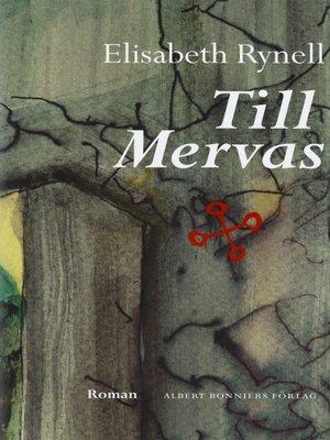 cover image of Till Mervas