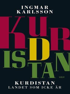cover image of Kurdistan