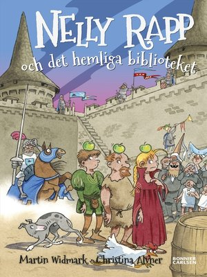 cover image of Nelly Rapp och det hemliga biblioteket