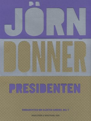cover image of Presidenten