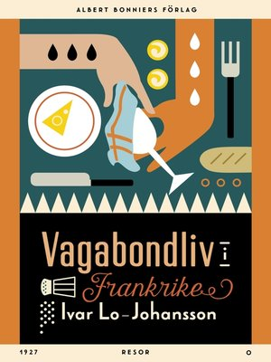 cover image of Vagabondliv i Frankrike
