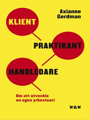 cover image of Klient, praktikant, handledare