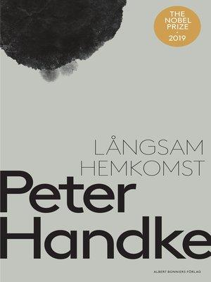 cover image of Långsam hemkomst