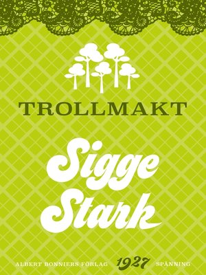 cover image of Trollmakt