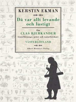 cover image of Då var allt levande och lustigt--om Clas Bjerkander