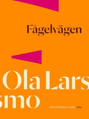 cover image of Fågelvägen