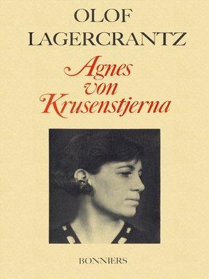 cover image of Agnes von Krusenstjerna