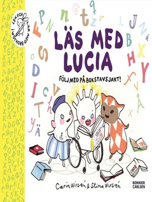 cover image of Läs med Lucia