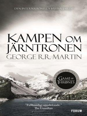 cover image of Kampen om järntronen