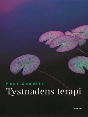 cover image of Tystnadens terapi