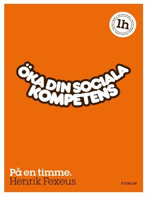 cover image of Öka din sociala kompetens