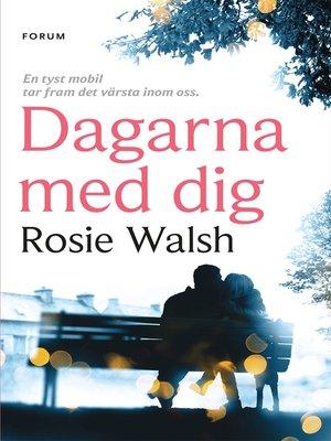 cover image of Dagarna med dig
