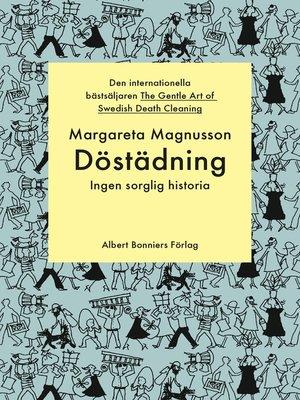 cover image of Döstädning