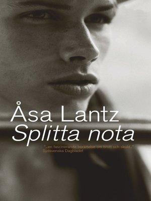 cover image of Splitta nota