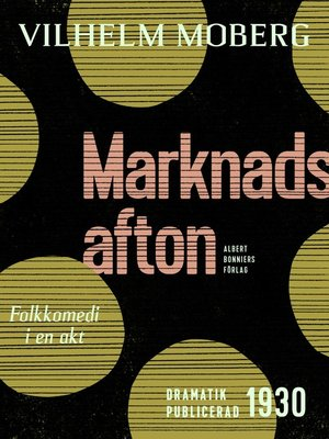 cover image of Marknadsafton