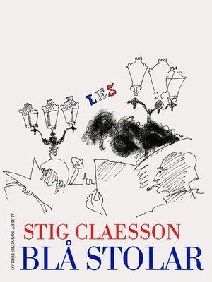 cover image of Blå stolar