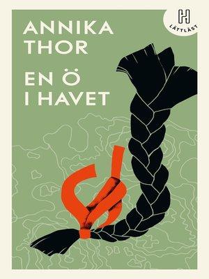 cover image of En ö i havet (lättläst)