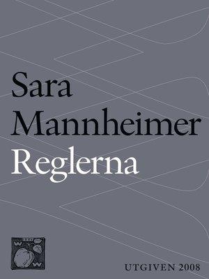 cover image of Reglerna