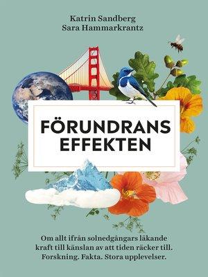 cover image of Förundranseffekten