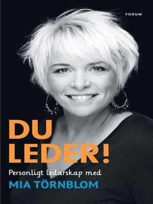 cover image of Du leder!