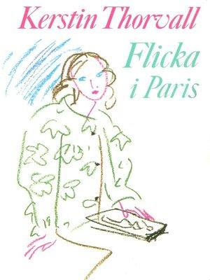 cover image of Flicka i Paris