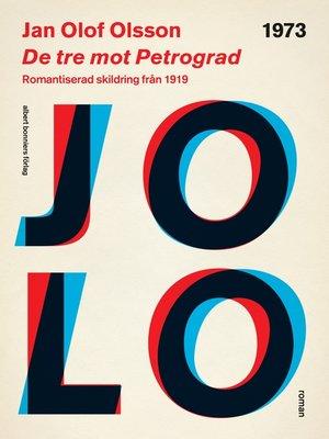 cover image of De tre mot Petrograd