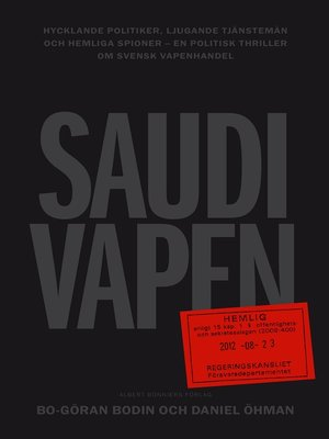 cover image of Saudivapen