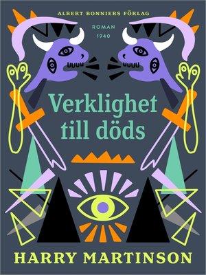 cover image of Verklighet till döds