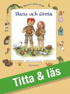 cover image of Hans och Greta