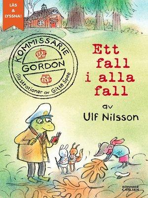 cover image of Kommissarie Gordon. Ett fall i alla fall (e-bok + ljud)