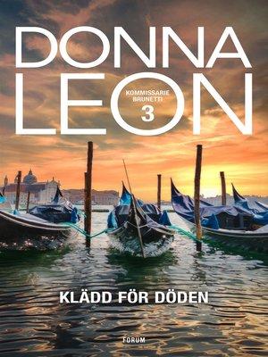 cover image of Klädd för döden