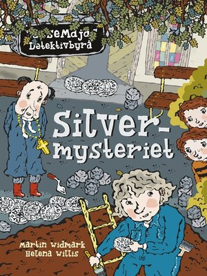 cover image of Silvermysteriet