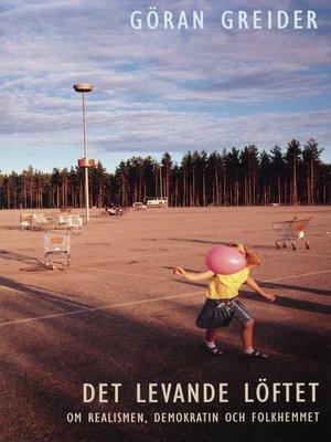 cover image of Det levande löftet