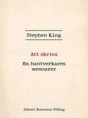 cover image of Att skriva