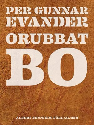 cover image of Orubbat bo