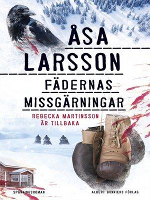 cover image of Fädernas missgärningar