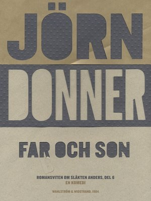 cover image of Far och son