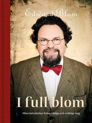 cover image of I full blom