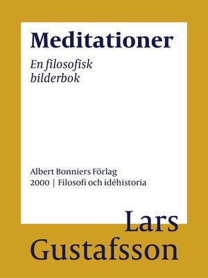 cover image of Meditationer