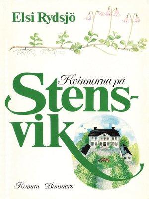 cover image of Kvinnorna på Stensvik