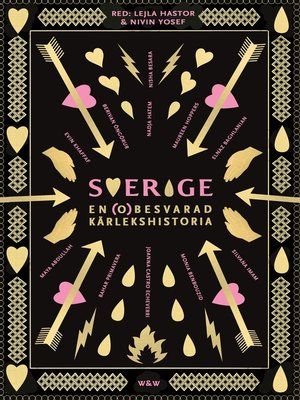 cover image of Sverige, en (o)besvarad kärlekshistoria