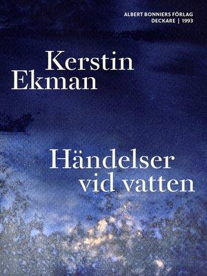 cover image of Händelser vid vatten