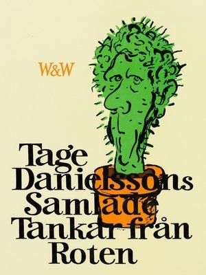 cover image of Samlade tankar från roten